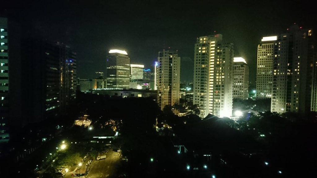 ジャカルタのビル群